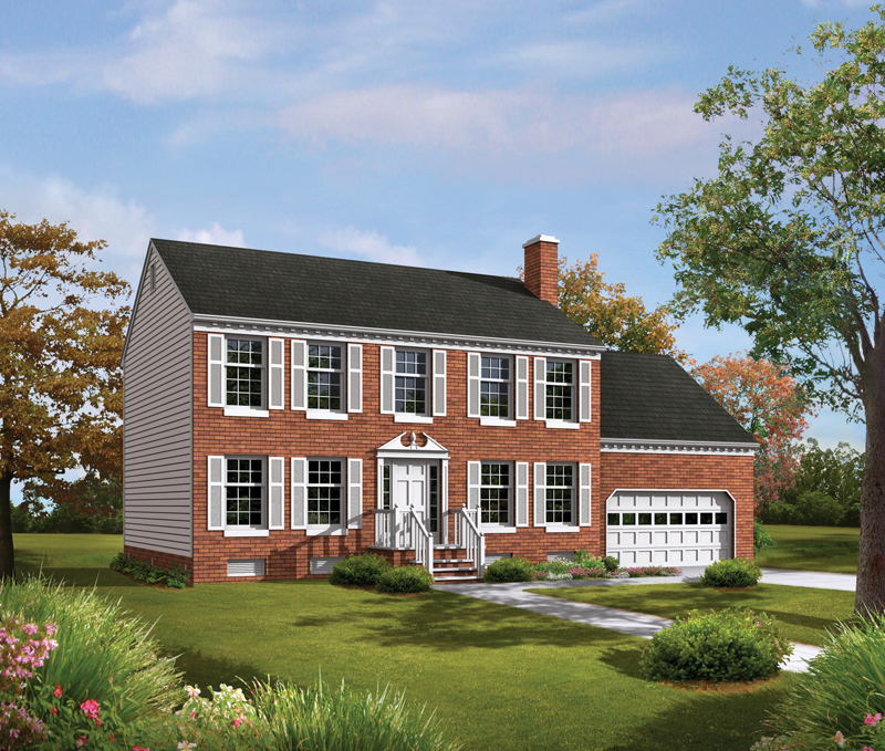 Surprising Tidewater Colonial Home Plan 001D 0009 House Plans And More Download Free Architecture Designs Rallybritishbridgeorg