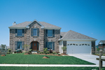 Appealing Front Lures The Eye To Traditional Living
