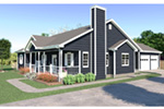 Country House Plan Front Photo 01 - Mayland Country Style Home 001D-0031   House Plans and More