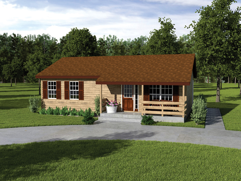 on ranch house plan free