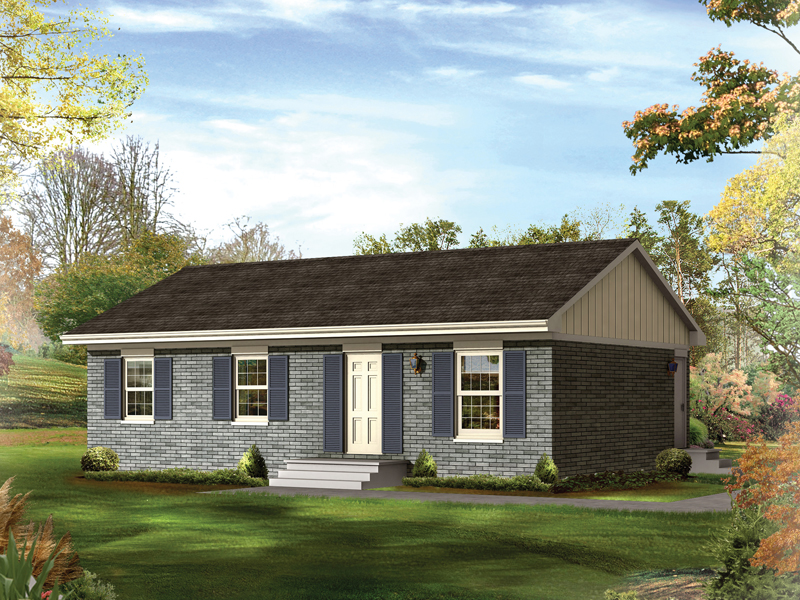 Compact Ranch Home