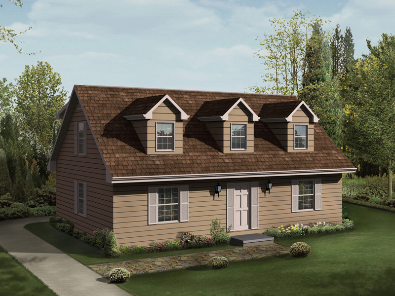 Cape Cod & New England House Plan Front Image - Hatteras II Vacation Home 001D-0056 | House Plans and More