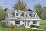 Home Has Front Dormers Adding Light, Space And Appeal