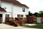 Southern House Plan Rear Photo 02 - Charleston Country Farmhouse 001D-0064 | House Plans and More