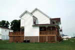 Southern House Plan Side View Photo 01 - Charleston Country Farmhouse 001D-0064 | House Plans and More