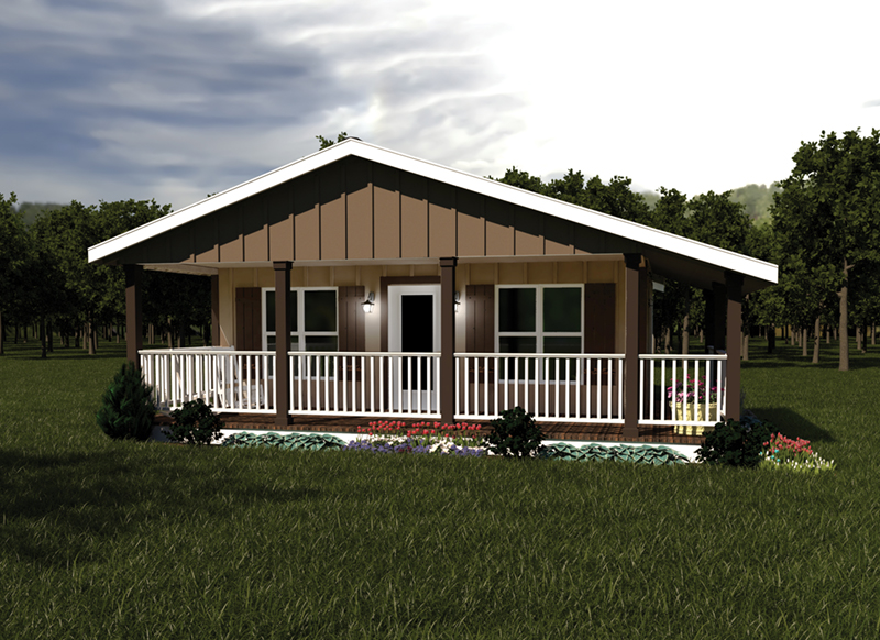 Natural Ranch Favorable To The Outdoors