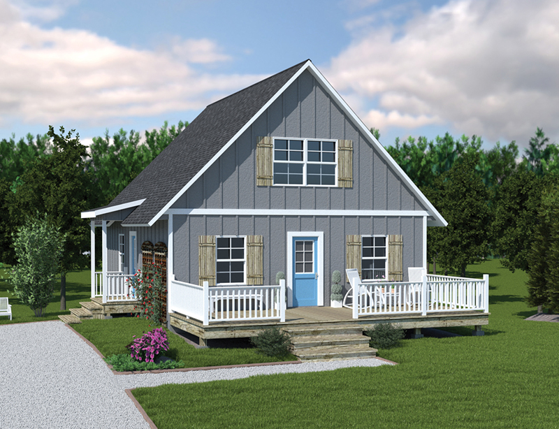 Alluring A-Frame Cottage