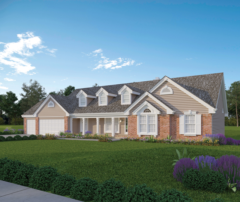 Foxbury Atrium Ranch ly Home Plan 007D-0010 | House ... on will house, nick house, california style house, redman house, rosie house, sophie house, white beach house, old house,