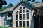 Traditional House Plan Rear Photo 01 - Foxbury Atrium Ranch Lovely Home 007D-0010 | House Plans and More