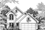 Sunbelt Home Plan Front Image of House - Norwick Traditional Home 007D-0014 | House Plans and More