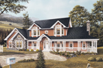 Country House Plan Front Image - Countryview Plantation Home 007D-0015 | House Plans and More