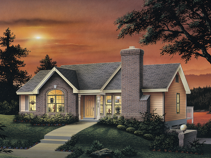 Lakeview Cape Cod Ranch Home Plan 007D-0037 | House Plans ... on home office elevation drawing, gated community floor plans elevation, home 1st floor, home design kerala plan and elevation, hyderabad home elevation, house elevation,