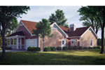 Mountain Home Plan Rear Photo 01 - Summerset Country Home 007D-0055 | House Plans and More