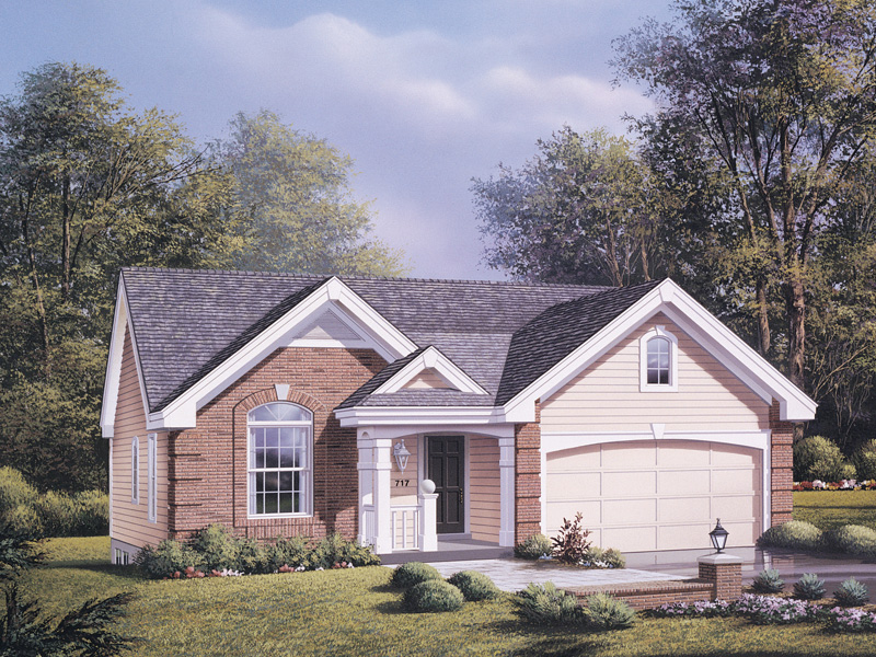 Country House Plan Front Photo 01 - Ashmont Woods Ranch Home 007D-0060 | House Plans and More