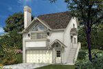 Compact Home For Sloping Lot