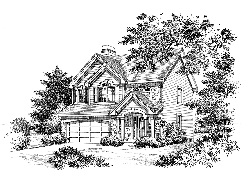 Traditional House Plan Front Image of House - Glencoe Greek Revival Home 007D-0114 | House Plans and More