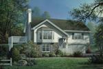 Spacious Hillside Home