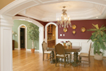 Country House Plan Dining Room Photo 02 - Monaco Bay Traditional Home 007D-0132 | House Plans and More