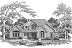 Country House Plan Front Image of House - Monaco Bay Traditional Home 007D-0132 | House Plans and More