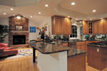 Country House Plan Kitchen Photo 01 - Monaco Bay Traditional Home 007D-0132 | House Plans and More