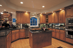 Country House Plan Kitchen Photo 02 - Monaco Bay Traditional Home 007D-0132 | House Plans and More
