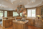 Country House Plan Kitchen Photo 03 - Monaco Bay Traditional Home 007D-0132 | House Plans and More