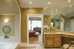 Country House Plan Master Bathroom Photo 01 - Monaco Bay Traditional Home 007D-0132 | House Plans and More