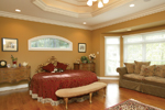 Country House Plan Master Bedroom Photo 01 - Monaco Bay Traditional Home 007D-0132 | House Plans and More