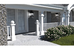 Traditional House Plan Front Photo 01 - Stonehaven Berm Home 007D-0161   House Plans and More