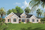 House Plan Front of Home 007D-0187