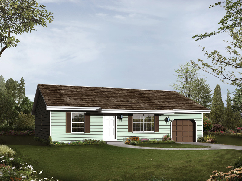 Easily Built Country Ranch At A Great Price