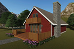Mountain Home Plan Front Photo 02 - Breezewood Rustic Home 008D-0134 | House Plans and More