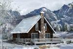 Quaint Rustic Country Lodge
