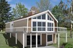 A Home Designed For Hillside Views