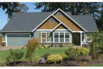 Country House Plan Front Photo 04 - Springfall Craftsman Ranch Home 011D-0013 | House Plans and More