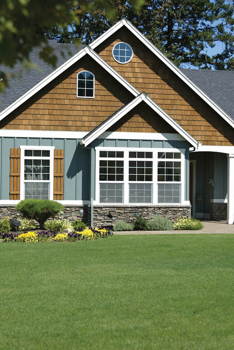 Country House Plan Front Photo 07 - Springfall Craftsman Ranch Home 011D-0013 | House Plans and More