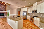 Country House Plan Kitchen Photo 01 - Springfall Craftsman Ranch Home 011D-0013 | House Plans and More