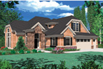 European House Plan Front Image - Fordyce Cottage Home 011D-0038 | House Plans and More