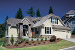 European House Plan Front Photo 04 - Fordyce Cottage Home 011D-0038 | House Plans and More