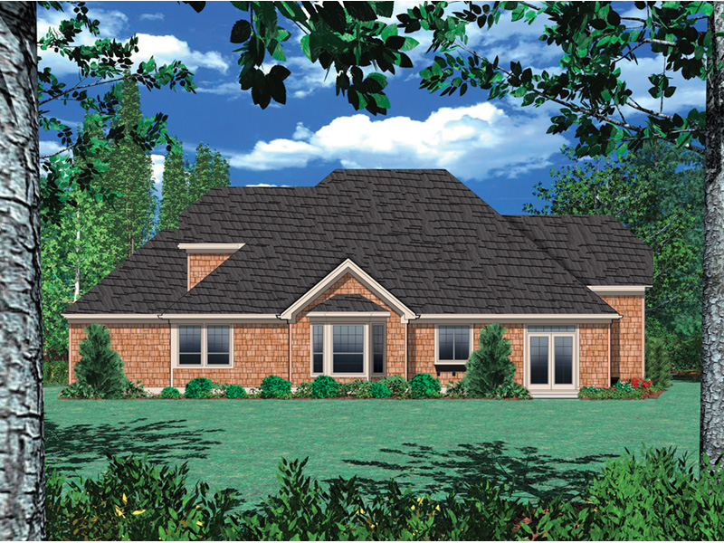 European House Plan Color Image of House - Fordyce Cottage Home 011D-0038 | House Plans and More