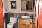European House Plan Bathroom Photo 02 - Harrisburg Lake Craftsman Home 011D-0043 | House Plans and More
