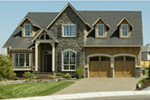 European House Plan Door Detail Photo 02 - Harrisburg Lake Craftsman Home 011D-0043 | House Plans and More