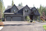 European House Plan Driveway Photo - Harrisburg Lake Craftsman Home 011D-0043 | House Plans and More
