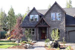 European House Plan Entry Photo 01 - Harrisburg Lake Craftsman Home 011D-0043 | House Plans and More