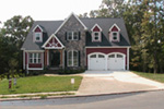 European House Plan Front Image of House - Harrisburg Lake Craftsman Home 011D-0043 | House Plans and More
