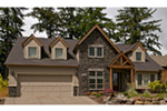 European House Plan Front Photo 10 - Harrisburg Lake Craftsman Home 011D-0043 | House Plans and More