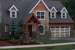 European House Plan Front of Home Photo 12 - Harrisburg Lake Craftsman Home 011D-0043 | House Plans and More