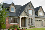 European House Plan Front Photo 06 - Harrisburg Lake Craftsman Home 011D-0043 | House Plans and More