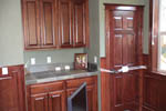 European House Plan Kitchen Photo 04 - Harrisburg Lake Craftsman Home 011D-0043 | House Plans and More