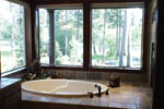 European House Plan Master Bathroom Photo 01 - Harrisburg Lake Craftsman Home 011D-0043 | House Plans and More